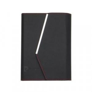Комплект черен тефтер с химикал Pierre Cardin