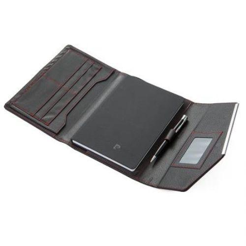 Комплект черен тефтер с химикал Pierre Cardin на ниска цена от MaxShop