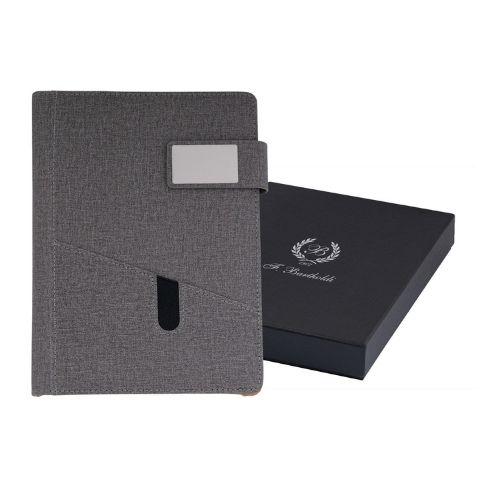 Органайзер A5 с текстилини корици в кутия на ниска цена от MaxShop