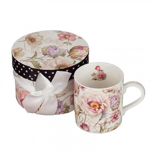 Чаша за кафе Роза на ниска цена от MaxShop