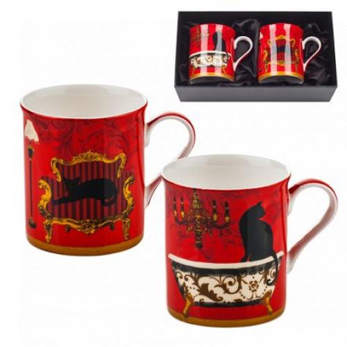 Сервиз за чай от 2 чаши MUG котки Lancaster на ниска цена от MaxShop