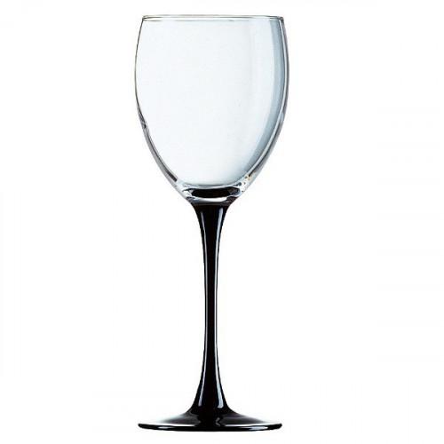 Чаши за вино на черно столче 250 сс на ниска цена от MaxShop