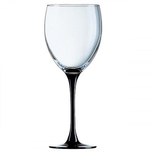 Чаши за вино на черно столче 330 сс на ниска цена от MaxShop