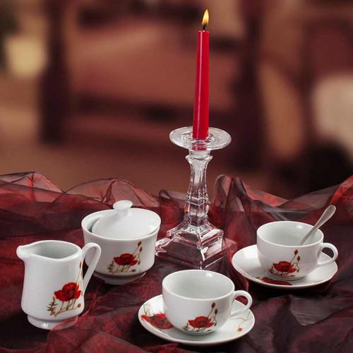 Сервиз за чай/кафе на макове Poppy  Lancaster на ниска цена от MaxShop