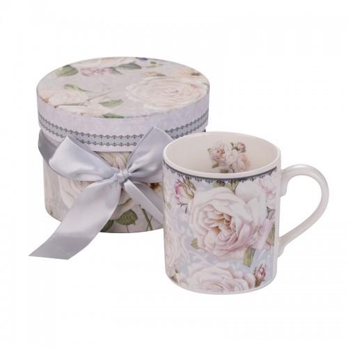 Чаша за кафе бяла роза New Wish Studio на ниска цена от MaxShop