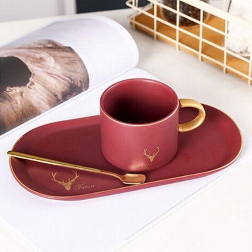 Чаша с лъжичка на ниска цена от MaxShop