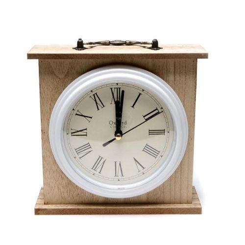 Дървен часовник на ниска цена от MaxShop
