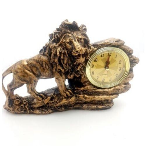 Декоративен часовник Лъв на ниска цена от MaxShop