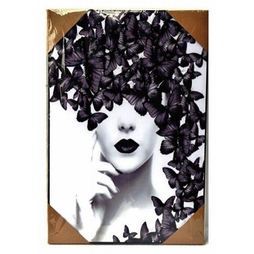 Арт картина Жена с Пеперуда на ниска цена от MaxShop