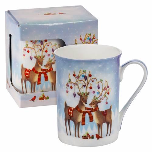 Коледна чаша еленчета Mug на ниска цена от MaxShop
