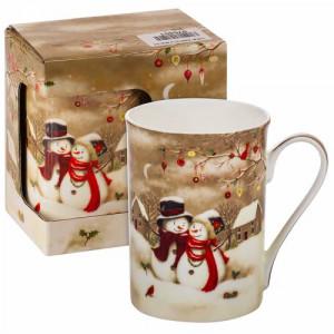 Коледна чаша Снежни човечета MUG