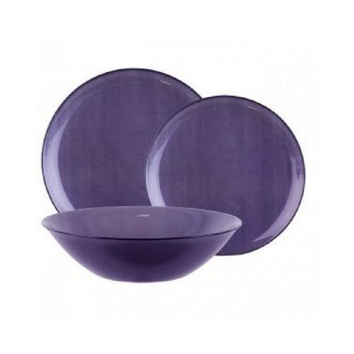 Сервиз за хранене Arty Purple Luminarc 18 части на ниска цена от MaxShop