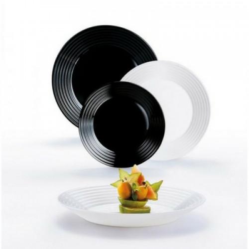 Сервиз за хранене Luminarc Harena Black & White на ниска цена от MaxShop
