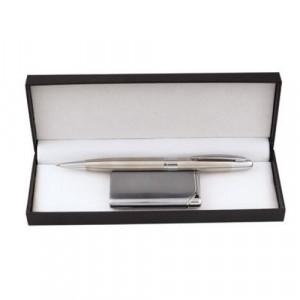 Дамски комплект химикалка и запалка F.Bartholdi
