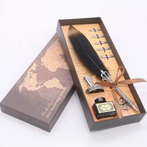 Оригинална писалка с естествено перо