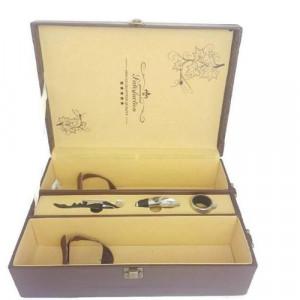 Кутия за вино с аксесоари
