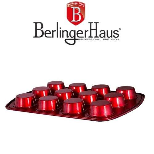 Форма за Мъфини Burgundi Metalic Line Berlinger Haus на ниска цена от MaxShop