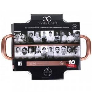 Тенджера Infinity Chefs 20 см, 2.3 л