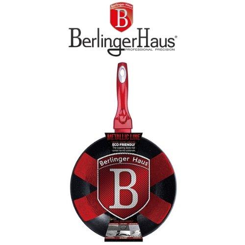 Wok тиган Burgundi Metalic Line Berlinger Haus на ниска цена от MaxShop
