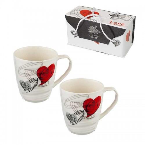 Комплект 2 чаши за кафе/чай Lancaster на ниска цена от MaxShop