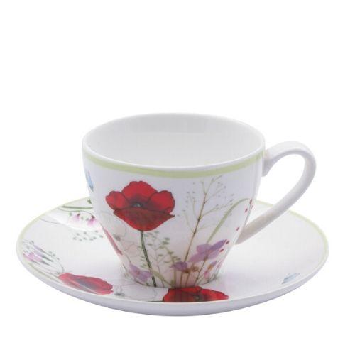 Комплект чаши за чай Poppy Garden на ниска цена от MaxShop