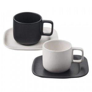 Сервиз за чай/кафе Black & White Lancaster