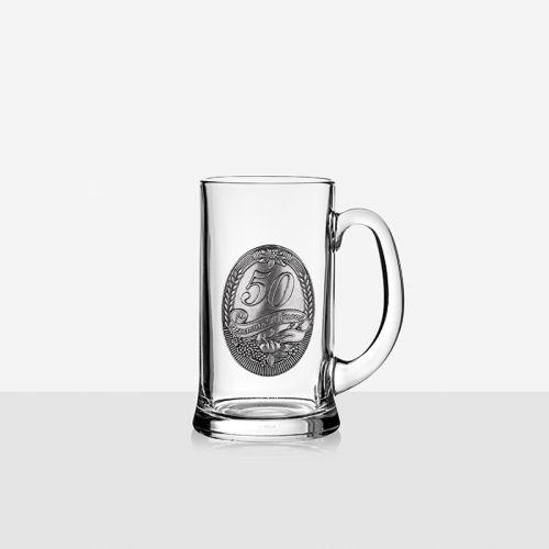 Халба з бира 50 години юбилей на ниска цена от MaxShop