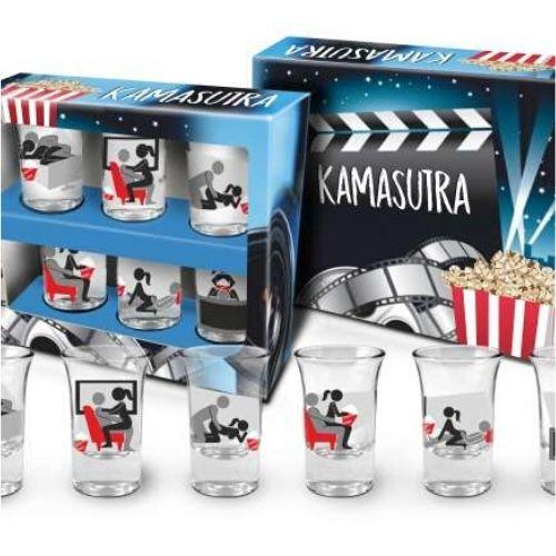 Комплект камасутра шотове в подаръчна кутия на ниска цена от MaxShop