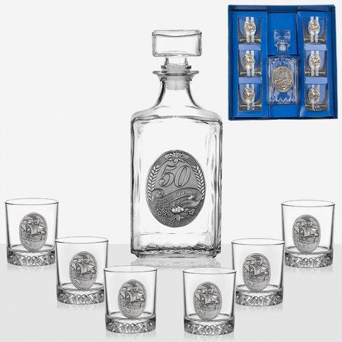 Сервиз за ракия бутилка+6 чаши  Artina на ниска цена от MaxShop