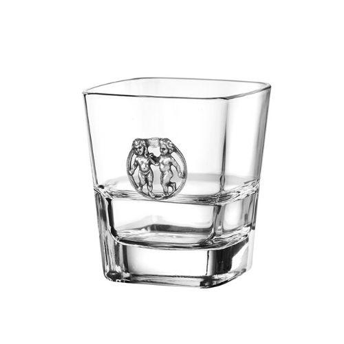Чаша за уиски Близнаци на ниска цена от MaxShop