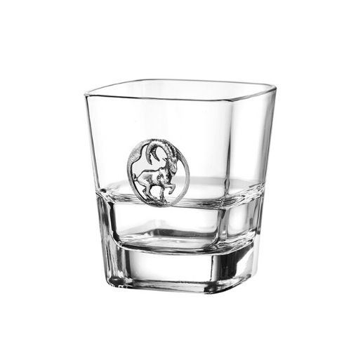 Чаша за уиски Козирог на ниска цена от MaxShop