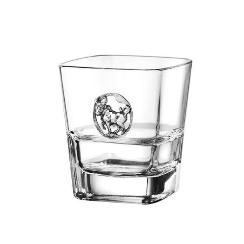Чаша за уиски Телец на ниска цена от MaxShop