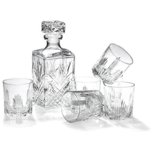 Комплект за уиски с гарафа на ниска цена от MaxShop