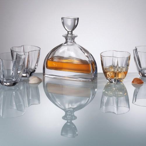 Сервиз за уиски с гарафа -  Nemo Bohemia на ниска цена от MaxShop