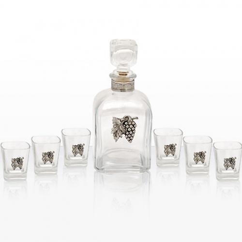 Сет 6 чаши и бутилка на ниска цена от MaxShop