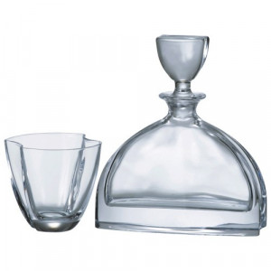 Сервиз за уиски с гарафа -  Nemo Bohemia