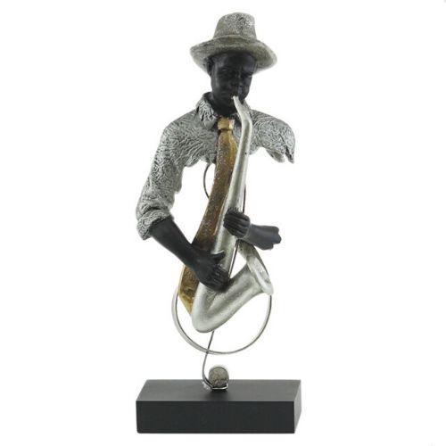 Арт пластика на музикант - саксофон на ниска цена от MaxShop