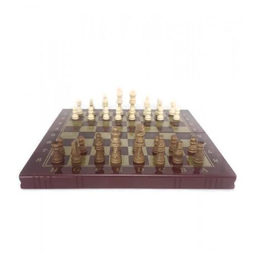 Дървен шах и табла на ниска цена от MaxShop