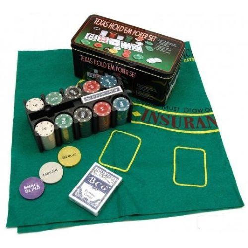 Покер сет texas holdem poker set на ниска цена от MaxShop