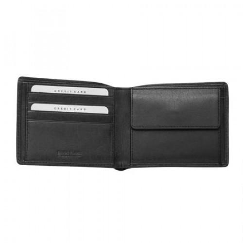 Мъжки портфейл черен Silver Flame на ниска цена от MaxShop