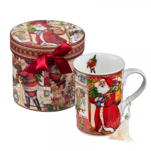 Порцеланова чаша Дядо Коледа на ниска цена от MaxShop