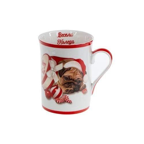 Коледна чаша Мопс MUG на ниска цена от MaxShop