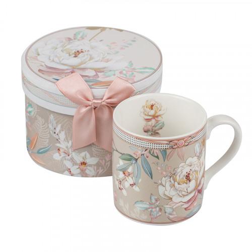 Порцеланова чаша за кафе Божур Mug на ниска цена от MaxShop