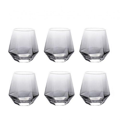 Комплект от 6 чаши за уиски Gray на ниска цена от MaxShop