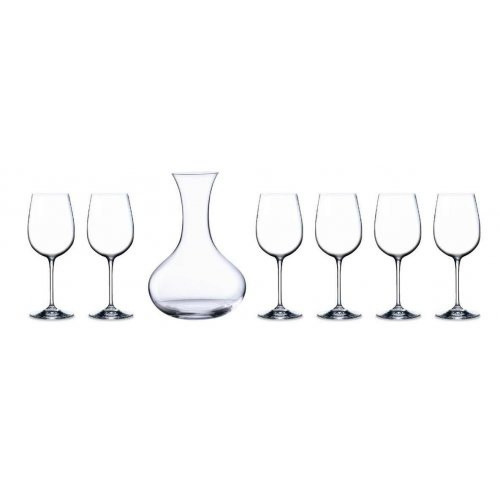 Гарафа и 6 бр чаши Bohemia на ниска цена от MaxShop