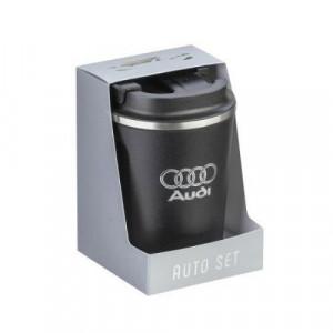 Термо чаша Silver Flame с лого на Audi