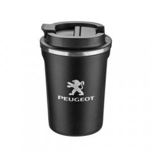 Термо чаша Silver Flame с лого на Peugeot