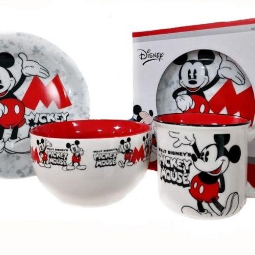 Детски сервиз за хранене Mickey Mouse на ниска цена от MaxShop