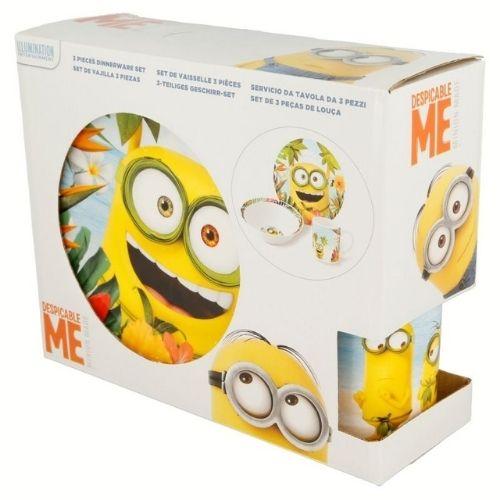 Детски сервиз за хранене Minions на ниска цена от MaxShop