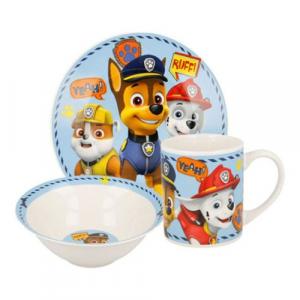 Детски сервиз за хранене от порцелан - Paw Patrol